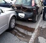 Tamponamento a catena su viale Lombardia