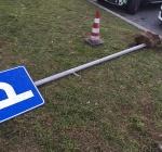 Adolescente di Brugherio sorpreso ad abbattere cartelli
