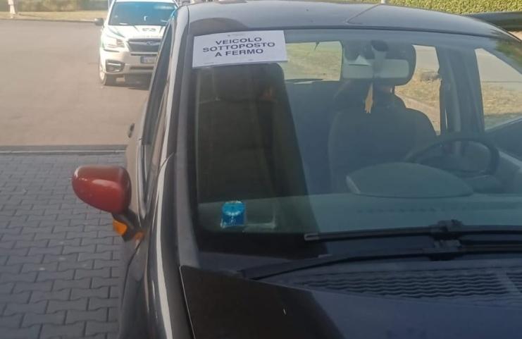 Sequestrata altra auto senza assicurazione