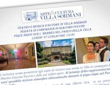 Un pic-nic con Giacomo Puccini a Villa Sormani